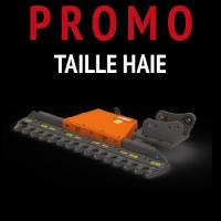 Taille haie hydraulique promotion