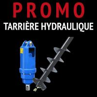 promotion tariere hydraulique